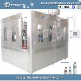 Cadena de producción de relleno mineral automática de la embotelladora del agua potable