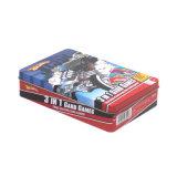 長方形のゲームカードの金属の錫の包装
