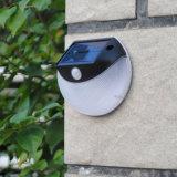Soporte ligero al aire libre accionado solar del sensor de movimiento de la fabricación LED solamente