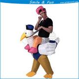 Strauß-aufblasbares gehendes Kostüm für Verkauf