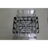 Moldes de injeção de plástico para armazenamento de supermercados a cesta
