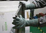 Длинные манжеты из натуральной кожи для рук Anti-Cut устойчивы к истиранию рабочие перчатки