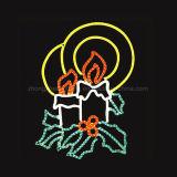 [220ف] حبة شريط مسطّحة 3 سلك [لد] مرنة نيون حبل ضوء