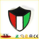 Insigne personnalisé de Pin de revers et de police en métal avec le chapeau de guindineau