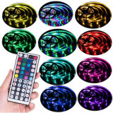 Tipo SMD 5050 5V WS2813 Pixel individualmente Fita LED flexível RGB endereçável Light