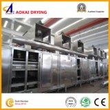 Máquina de secagem da correia para fatias e microplaquetas da cenoura