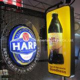Корейский напольный акриловый знак магазина светлой коробки панели