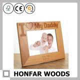 Personifizierter schicker hölzerner Effekt-Bilderrahmen für Vatertags-Geschenk