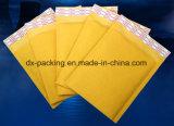Gelber Packpapier-Beutel