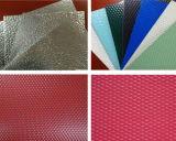 PE PVDF Feve Epoxy recubierta de color de hoja de aluminio gofrado de estuco.