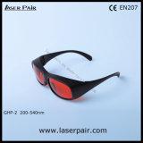 Het hoge Niveau van de Bescherming van Beschermende brillen van de Veiligheid van de Laser van 200540nm (ghp-2) & Bril van de Veiligheid van de Laser van Laserpair