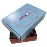 화장품 포장을%s 다채로운 물결 모양 판지 상자