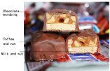 가득 차있는 자동적인 초콜렛 생산 라인