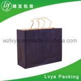 Bolsa de papel Custom Designed de Kraft para el regalo, bolso de ropa