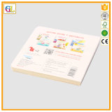 Impression élevée de livre d'enfants de panneau de Qaulity (OEM-GL001)