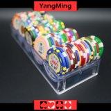 100 ПК прозрачным акриловым микросхемы случай для монтажа в стойку 40мм Покер (YM-CT07)