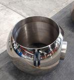 球弁の予備部品のための固体球をひく造られたステンレス鋼