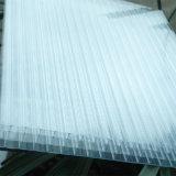 Tranparent vier Wand-hohles Polycarbonat-Blatt für Finnland-Markt