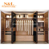 Camminata su ordine della mobilia della camera da letto di alta qualità in armadio