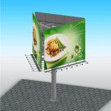 Résistance au vent mobilier extérieur Panneaux publicitaires à trois côtés