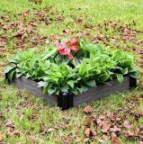 Цветок высокого качества WPC напольный деревянный для цветочного горшка коробки