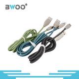 Type-c micro câble de la foudre colorée la plus neuve de Bwoo de caractéristiques d'USB