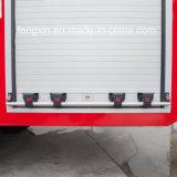 La lega di alluminio rotola in su i portelli dell'otturatore per il camion dei vigili del fuoco