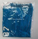 Het blauwe Korte Overhemd van het Polo van de Manier van de Koker voor de Mens