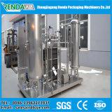 Bebidas gaseosas y agua carbonatada máquina de llenado para la pequeña fábrica