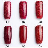 Manucure Fournitures losange rouge Nail UV Gel Polish