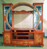 Античный большой деревянный живущий блок телевизора шкафа комнаты