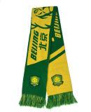 Sciarpa di calcio della sciarpa del Knit del randello della sciarpa del ventilatore con il marchio personalizzato