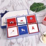 보통 종이 마분지 포장 포장 빈 선물 상자, 공상 종이에 의하여 재생되는 선물 포장 상자