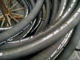 Manguito hidráulico SAE R6 de la trenza de la materia textil