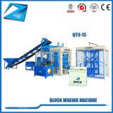 Hete Verkopende het Maken van de Baksteen Qt9-15 Hydraform Machine in Zuid-Afrika
