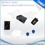 Veículo GPS Tracker com identificação do condutor, RFID e impressões digitais