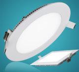 3W a 24 W LED redondos da Luz do Painel do Teto