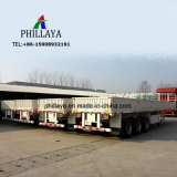 Seitliche Wand-abnehmbarer Transport-Flachbettbehälter-LKW-Schlussteil für Verkauf