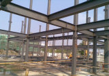 Prefabricated 다중 이야기 작업장 사무실 강철 구조물