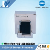 Original Novo Konica Minolta 512 14pl Cabeçote de solvente para Allwin Jhf Humana Liyu Taimes Xuli Impressora Myjet Km512 Mn14pl Head