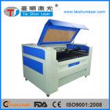 O profissional projetou a máquina do PVC da gravura do laser