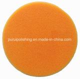 Rilievo di lucidatura arancione della spugna con Velcro