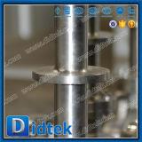 El diseño seguro de incendios Didtek Válvula de bola de acero inoxidable con la extensión de la madre