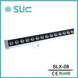 LED 36W線形棒ライト暖かく白い屋外の壁の洗濯機