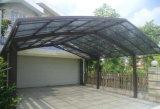 Kundenspezifisches Qualitäts-Aluminium Structure Autoparkplatz mit festem Polycarbonat