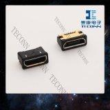 De Schakelaar van de micro- USB 5pin Vergaarbak van het B