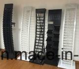 El equipo de Merchandising de mosaico Retail Showroom Countertoop estante de la pantalla de mármol de metal
