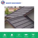 Mattonelle di tetto rivestite di Nosen del metallo della pietra del materiale di tetto di verde di foresta