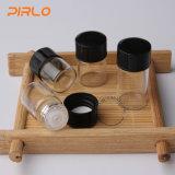 0.5ml 1ml 1.5ml 2ml borran la botella de cristal farmacéutica del petróleo esencial con el reductor del orificio