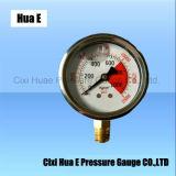 63mm 방열 Antisepsis 압력 계기